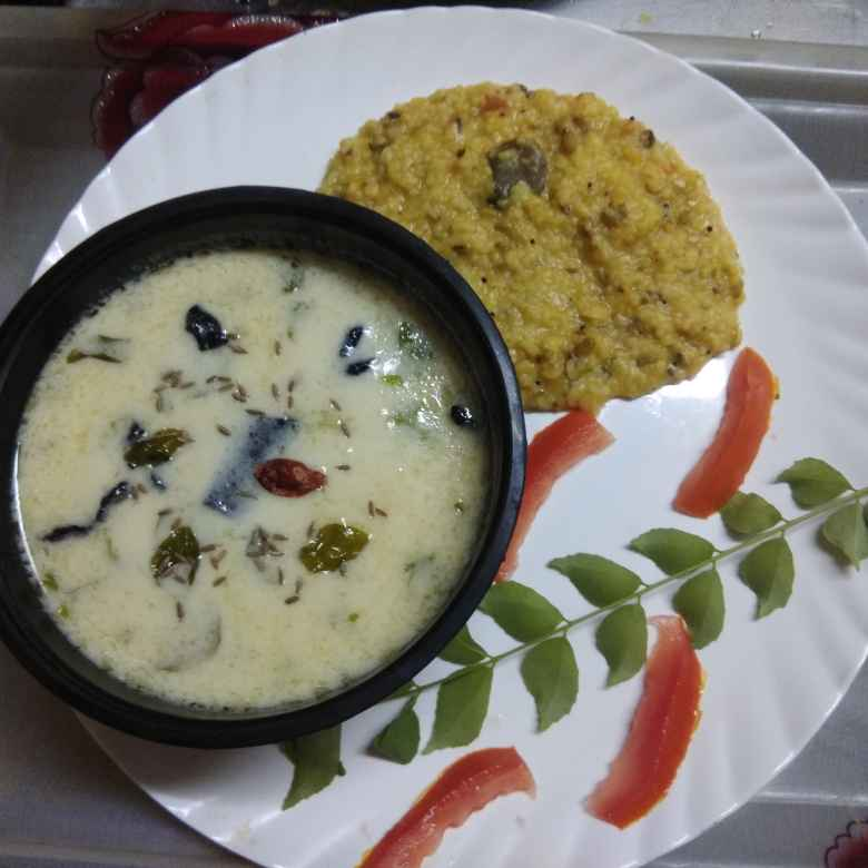 How to make ગુજરાતી કઢી...