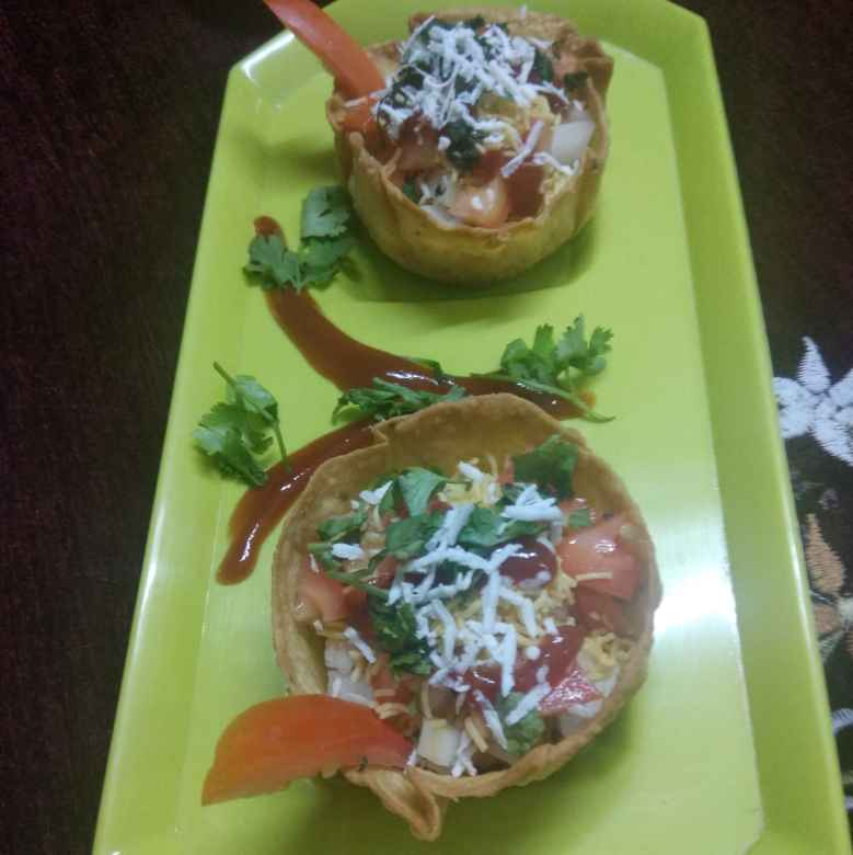 Photo of Katori chaat by Jhanvi Chandwani at BetterButter