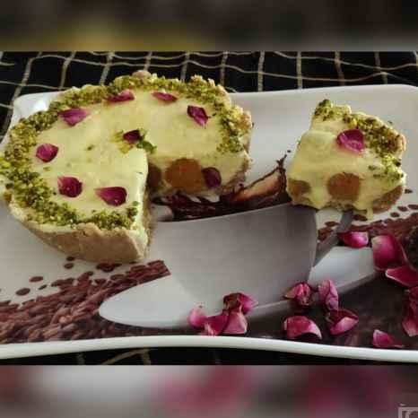 How to make गुलाब जामुन चीज़ केक