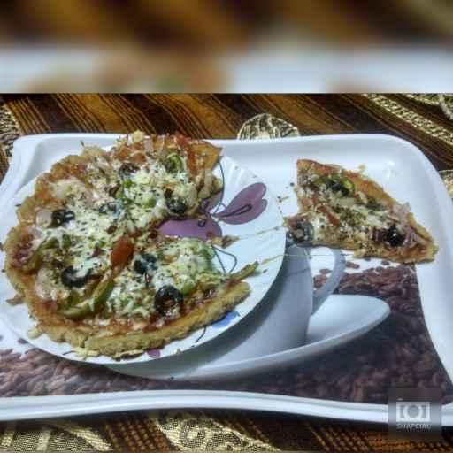 Photo of Oats pizza by Jhanvi Chandwani at BetterButter