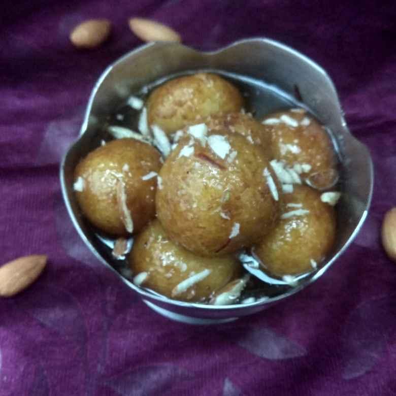 Photo of Leftovar rice gulab jamun by Jhanvi Chandwani at BetterButter