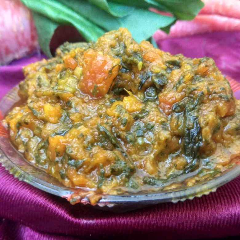 Photo of Gajar palak nj sabji by Jhanvi Chandwani at BetterButter