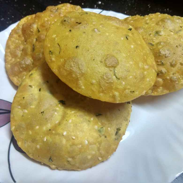 Photo of Methi puri by Jhanvi Chandwani at BetterButter