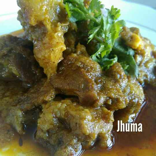 Photo of Dhania mutton by Jhuma Chatterjee at BetterButter