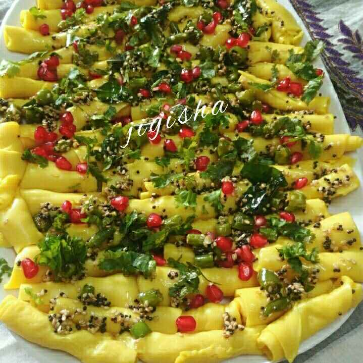 Photo of Khandvi by Jigisha Jayshree at BetterButter