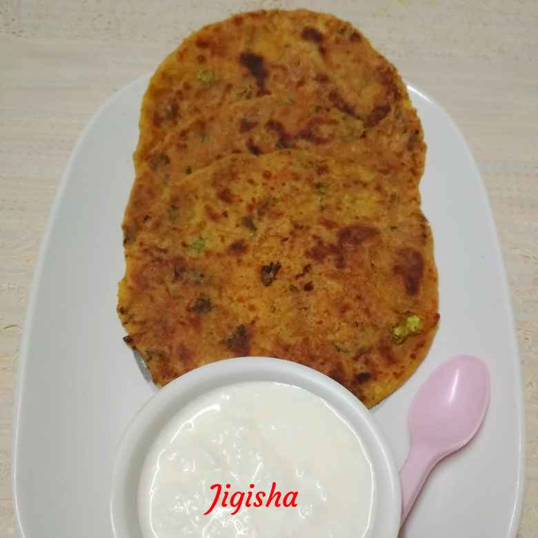 Photo of Aalu ke parathe by Jigisha Jayshree at BetterButter