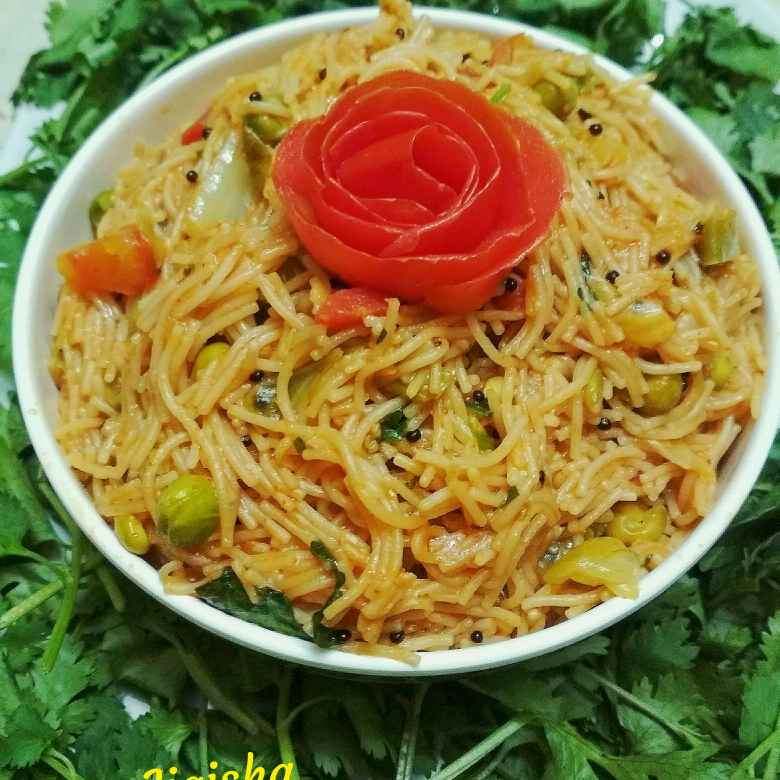 How to make Vegetable sevai