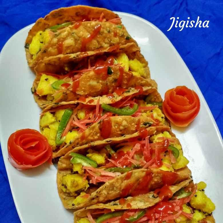 How to make Thepla tacos