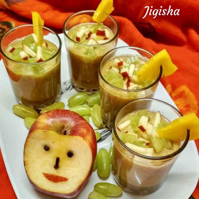 Photo of Sugar free fruits smoothie by Jigisha Jayshree at BetterButter