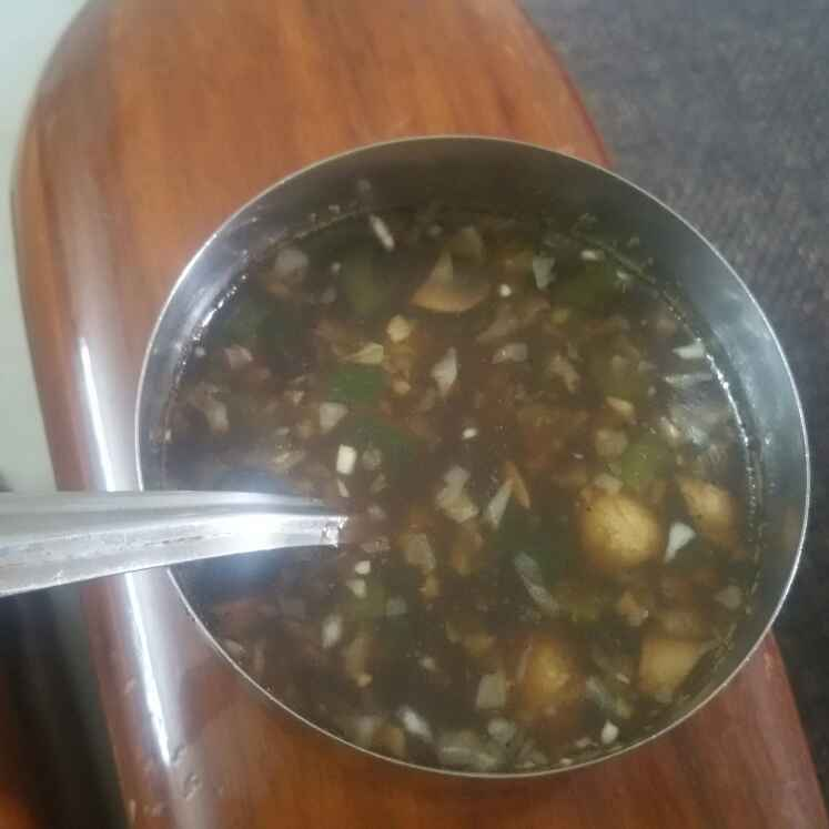 Photo of Veg Manchow Soup by Jiya Rohit Makhija at BetterButter