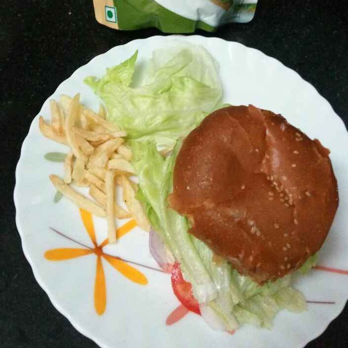 Photo of Easy Homemade Chicken Burger by Joelene Fish Anand at BetterButter