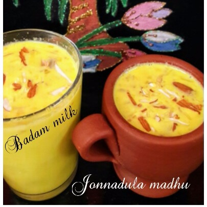 How to make Badam Milk
