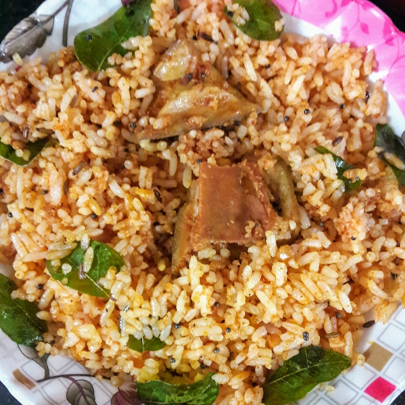Photo of Aavakaya rice by Jonnadula Madhu at BetterButter