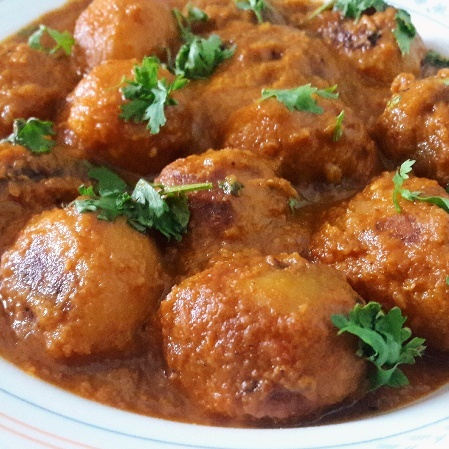 How to make Dum aloo