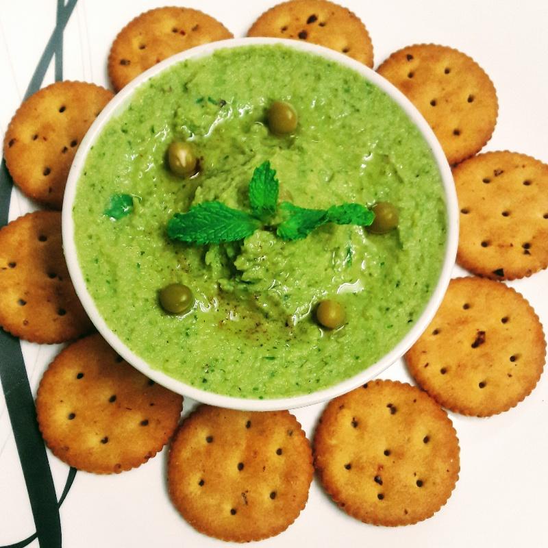 How to make Mint Pea Hummus