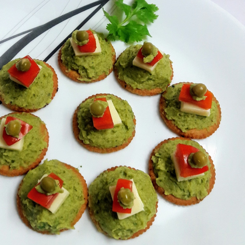 How to make Mint Canapes