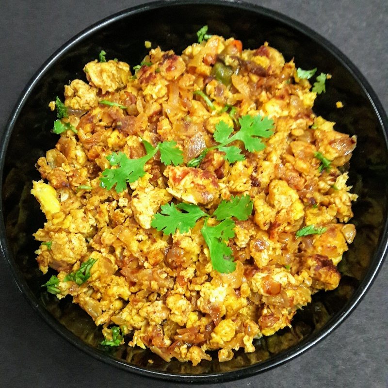 How to make Masala egg scramble