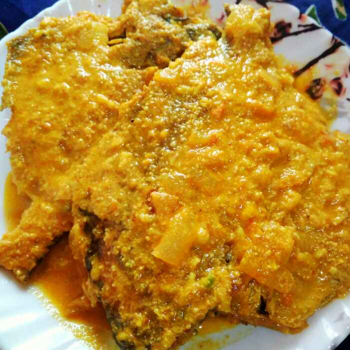 Photo of Pomfret with coconut by Juthika Ray at BetterButter