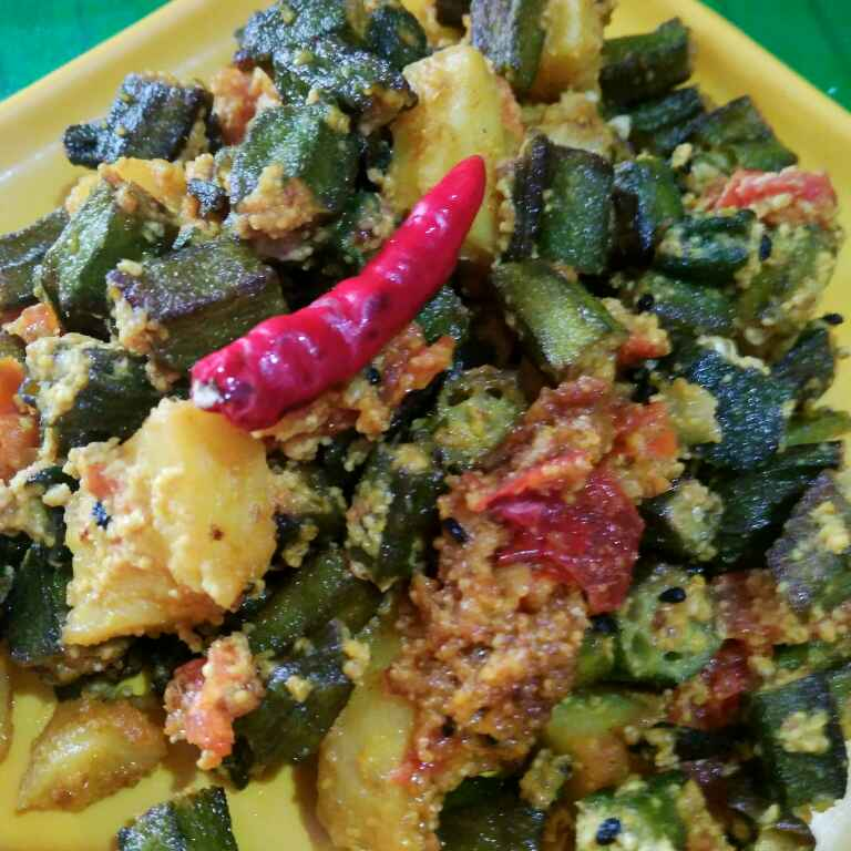 Photo of Sorse posto dheros by Juthika Ray at BetterButter