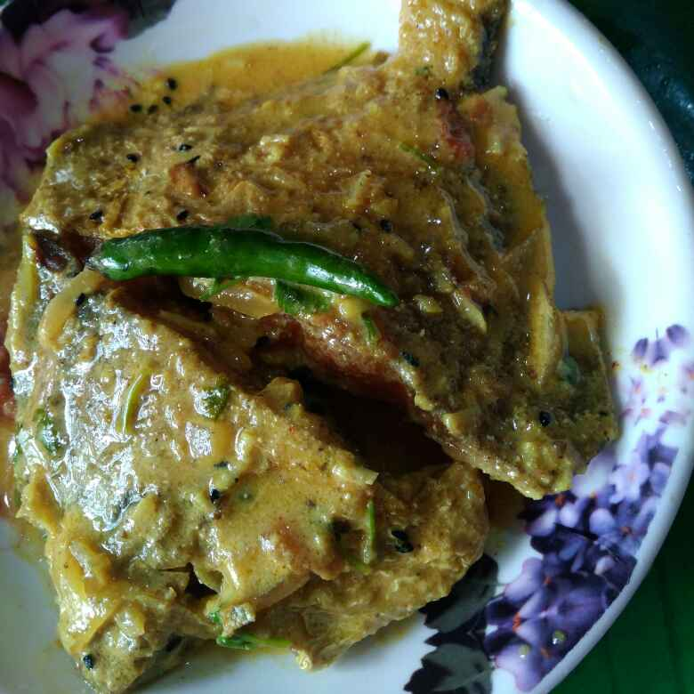 Photo of Dhania pomfret by Juthika Ray at BetterButter