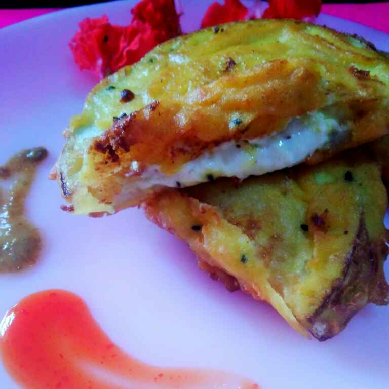 Photo of Stuffed cheese bottle gourd by Juthika Ray at BetterButter