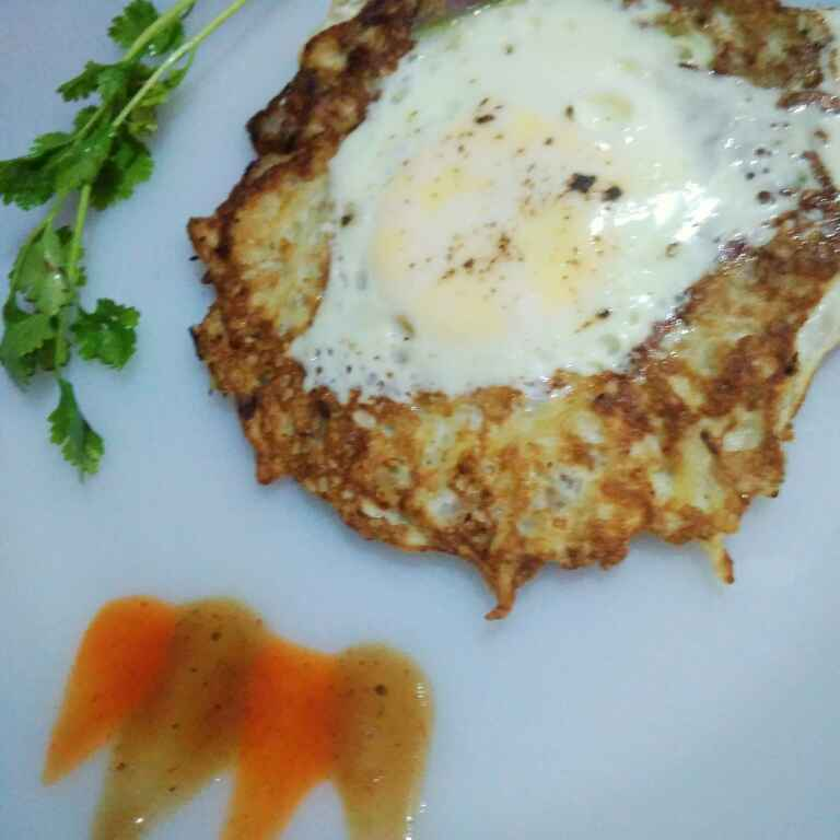 Photo of Hash browns egg poached by Juthika Ray at BetterButter