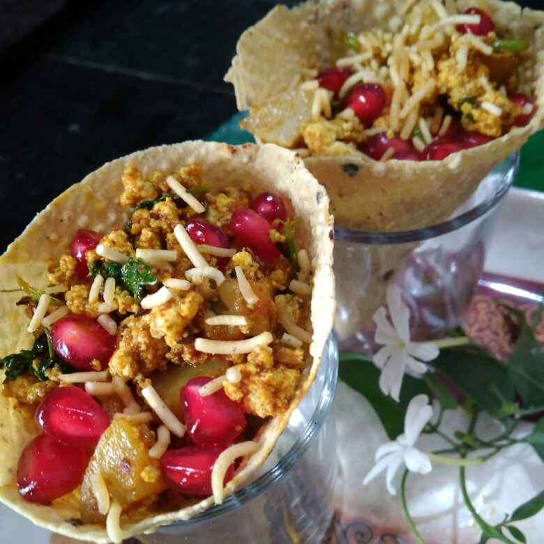 How to make Papad cone