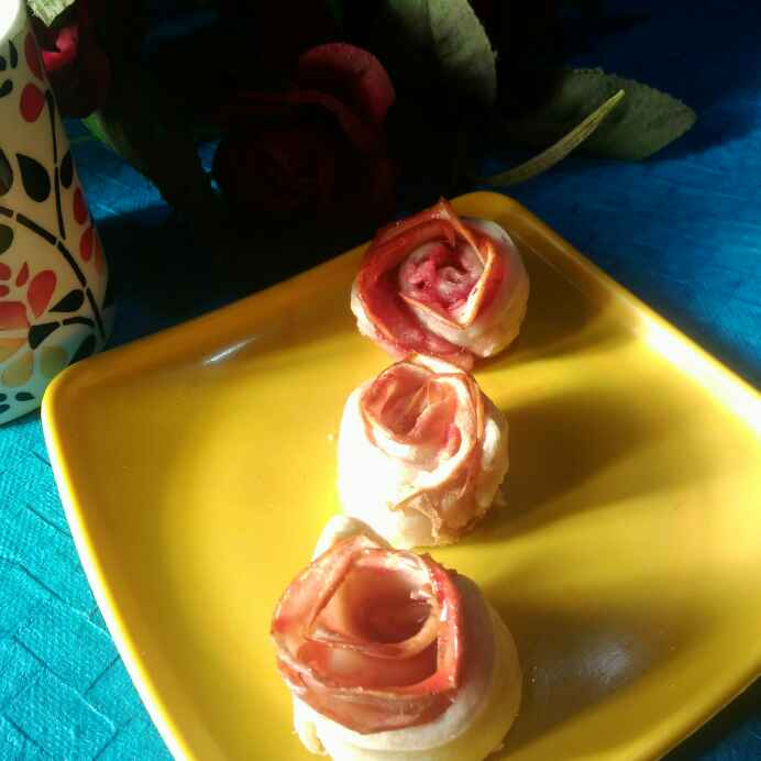Photo of Backed apple roses by Juthika Ray at BetterButter