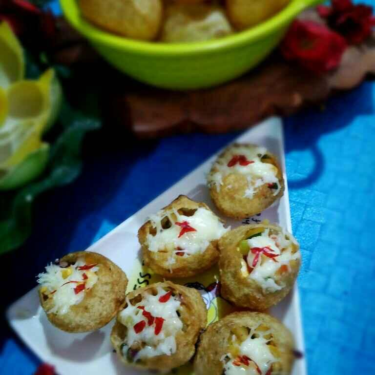 Photo of Cheese fuchka by Juthika Ray at BetterButter