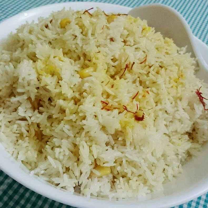 Photo of Corn Saffron Pulao by Jutika Das at BetterButter