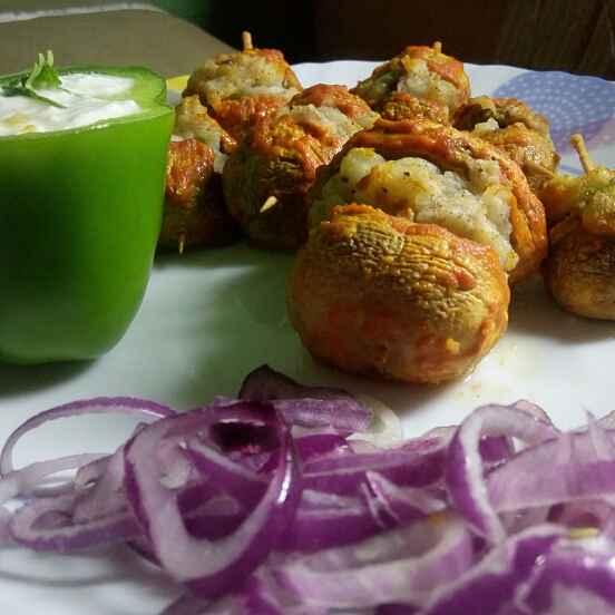 Photo of Stuffed Mushroom by Juvaireya R at BetterButter
