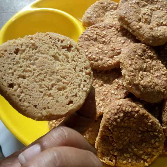 How to make Foxtail millet cookies
