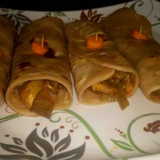 How to make Protien rich chappathi roll