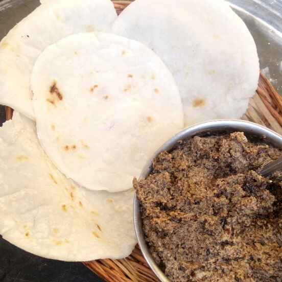 How to make Rice flour roti