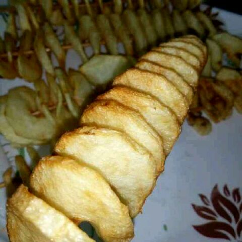 How to make Spiral potato