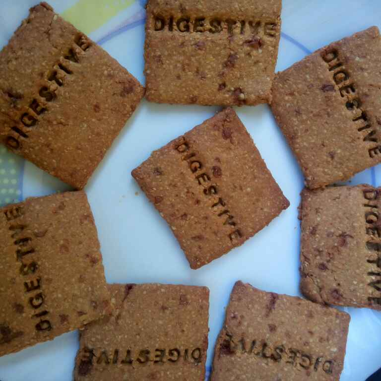 How to make Healthy Digestive Biscuits