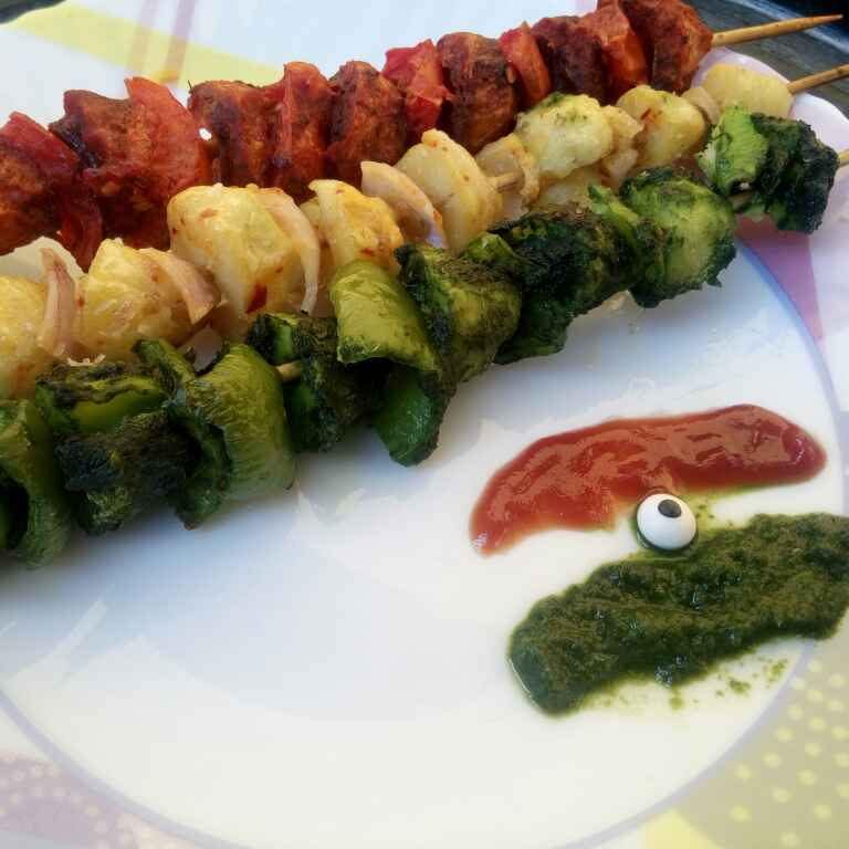 Photo of Flavoured Aloo Tikka by Juvaireya R at BetterButter