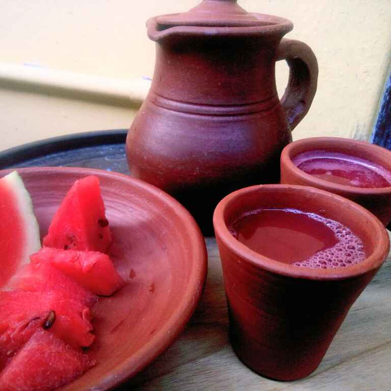 """How to make Without blender """"water Melon juice"""""""