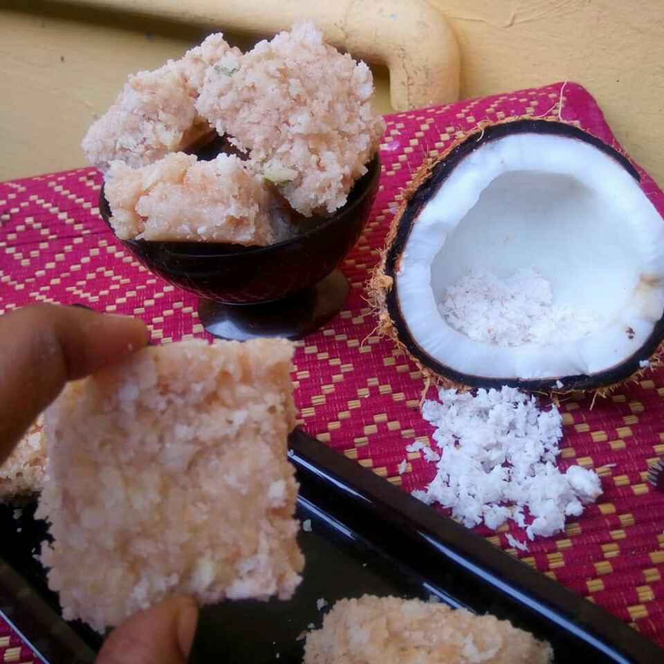 Photo of Coconut Burfi by Juvaireya R at BetterButter