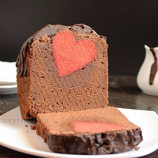 Photo of Surprise Inside Chocolate Hearts Cake by Jyothi Rajesh at BetterButter