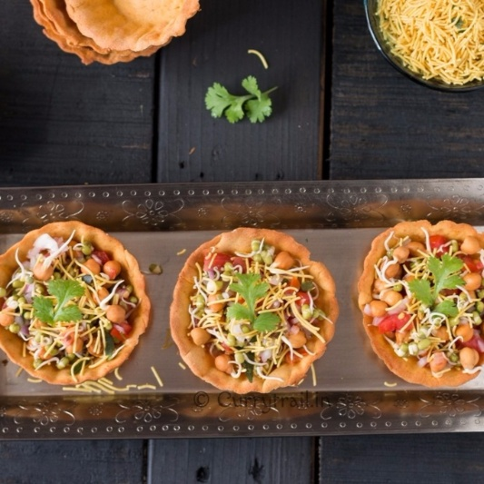 Photo of Homemade Canape Papdi Chaat by Jyothi Rajesh at BetterButter
