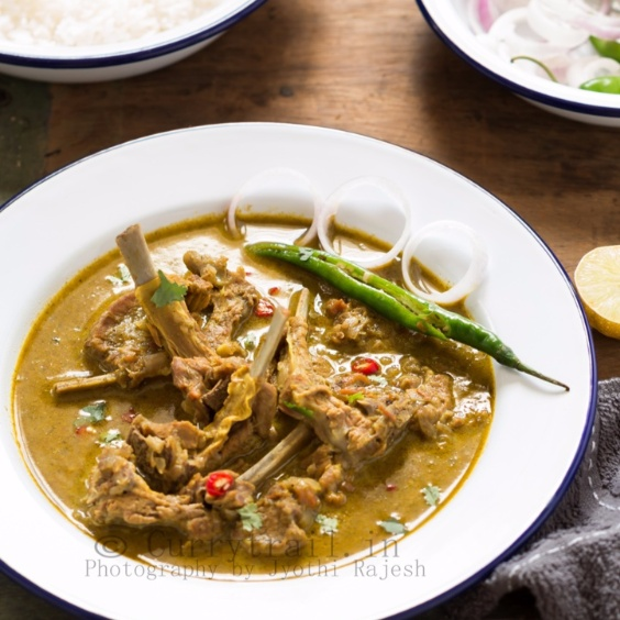 How to make Mom's Mutton Chops Curry