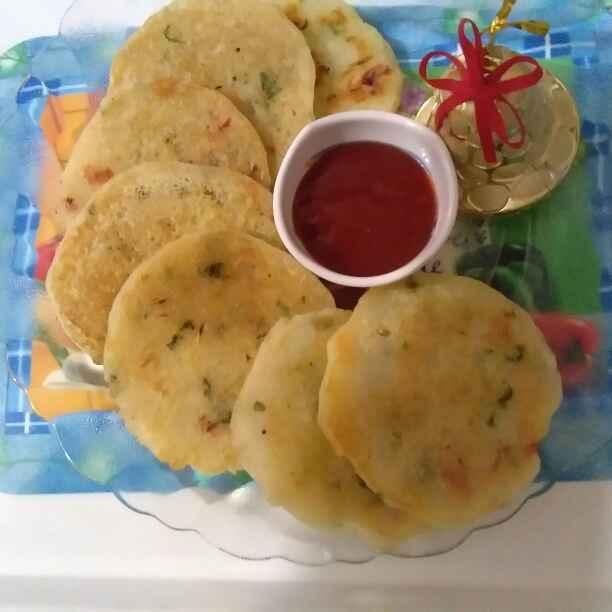 How to make Suji potato pancake