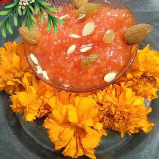 Photo of Sabudana ka halwa by Jyoti Adwani at BetterButter