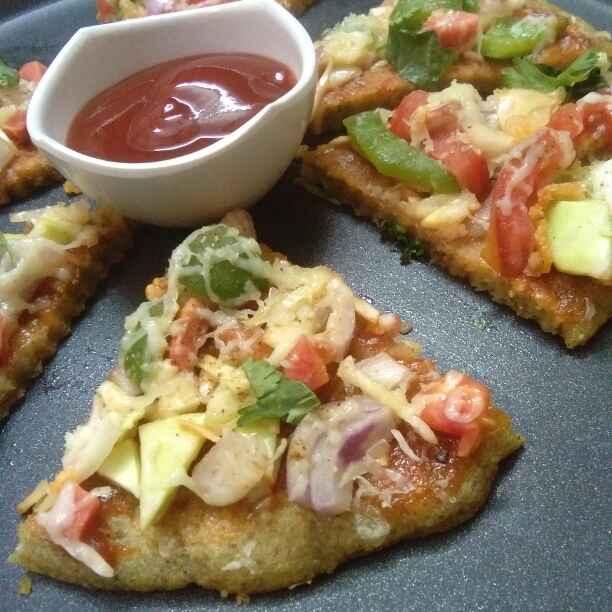 How to make Daal pizza