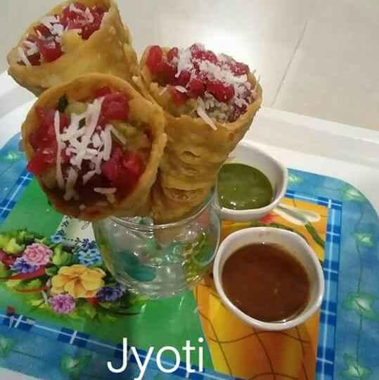 How to make મસાલા કોન