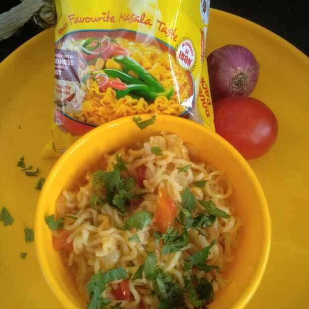 How to make મસાલા મેગી