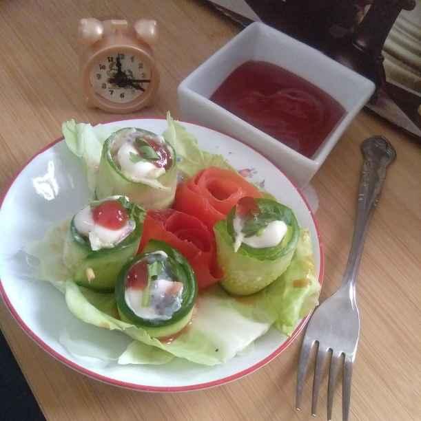 Photo of Cucumber roll by Jyoti Adwani at BetterButter