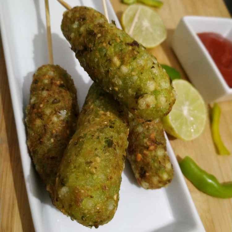 Photo of Hriyali sago kabab by Jyoti Adwani at BetterButter