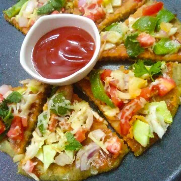 Photo of Dal base pizza by Jyoti Adwani at BetterButter